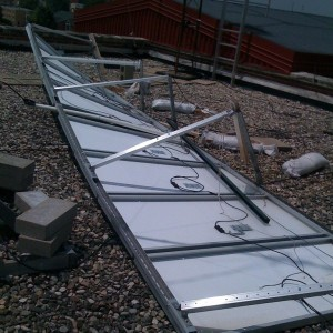 Solar Panels and Floods – Safety Advice
