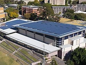 Queensland's First Solar Football Field