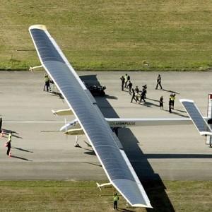 First intercontinental solar-powered flight