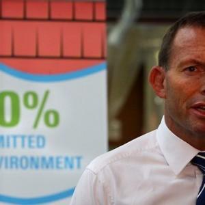 Tony Abbott supports renewable energy