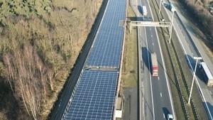 Belgian Solar Power High Speed Train Tunnel