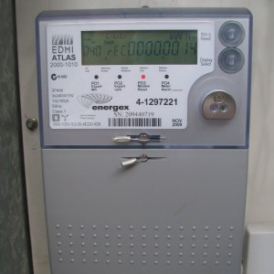 Question: When can I expect the energy retailer (Energex) to install the new meter?