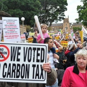 Plain speaking on the carbon tax and electricity prices