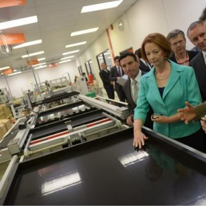 Adelaide solar panel plant ready to compete with China