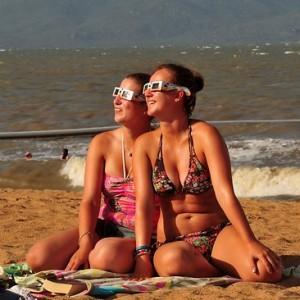 Cairns Solar Eclipse 2012 viewed across Australia