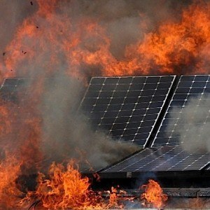 Faulty Solar Panel Isolators Spark Fires