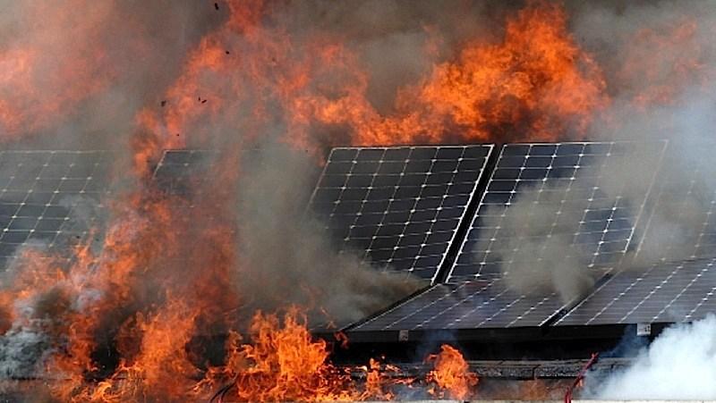 Faulty Solar Panel Isolators Spark Fires Australian