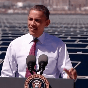 Obama: Challenging America to Achieve Solar Efficiency By 2020