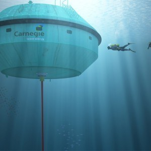 Carnegie Perth wave energy power station now in action