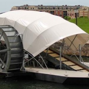 New Solar Powered Water Wheel Rids Baltimore Harbour of Trash