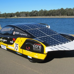 Sunswift eVe solar powered car breaks land speed record