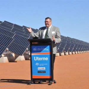 Australia's Biggest Tracking Solar Farm, Uterne Gets Funding for Future Expansion