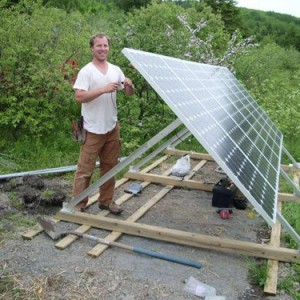 How to lower the cost of ground mounted solar arrays