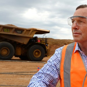 Coal good for humanity says Abbott at the opening of $3.9b Queensland mine