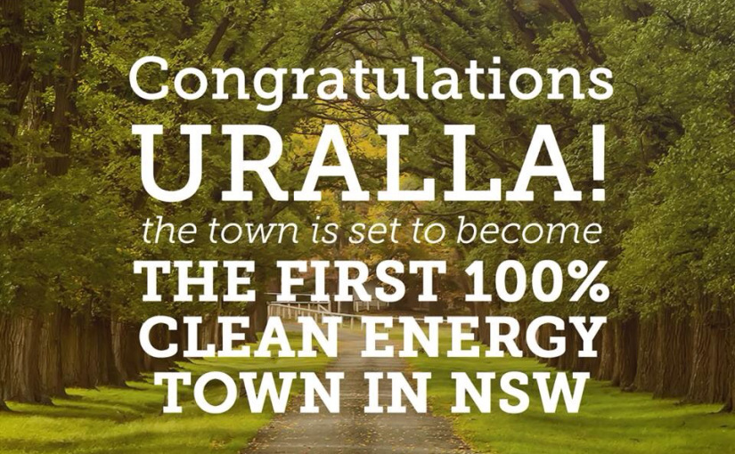 Uralla, NSW, Has Become The First Australian Town To Go