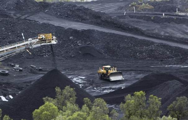 Australian reliance on fossil fuel and coal mining