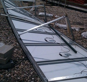 Solar power safety in QLD during a storm or flooding