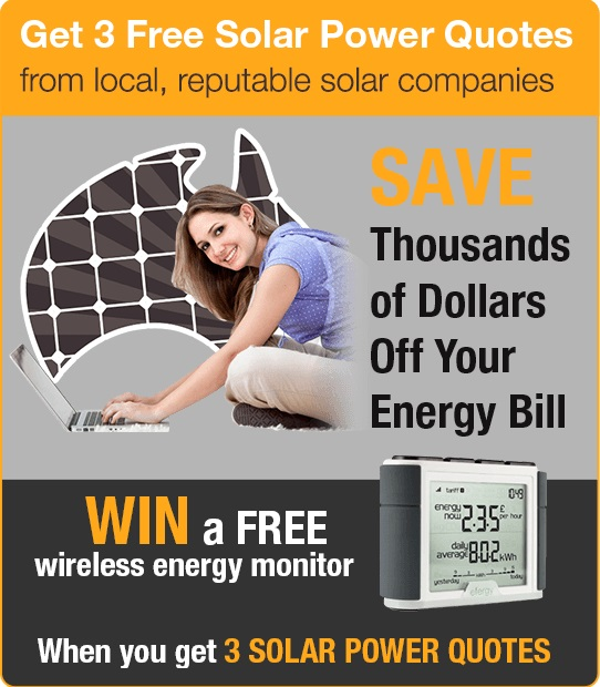 Get 3 solar panel quotes and win an energy monitor