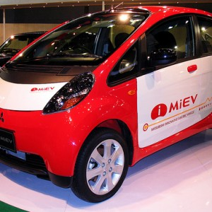 Mitsubishi slashes almost $6,000 from their i-MiEV electric car model