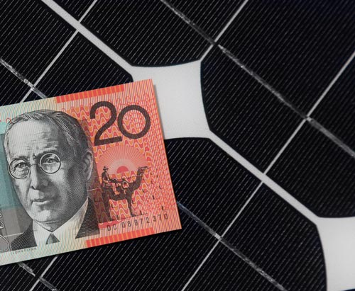 Residential solar panels costs in Australia