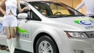 Electric car company BYD's shares drop 47%