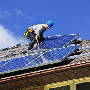 Solargain milestone as their 40,000th solar panel is installed
