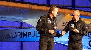 Solar powered aircraft highlights success of renewable energy