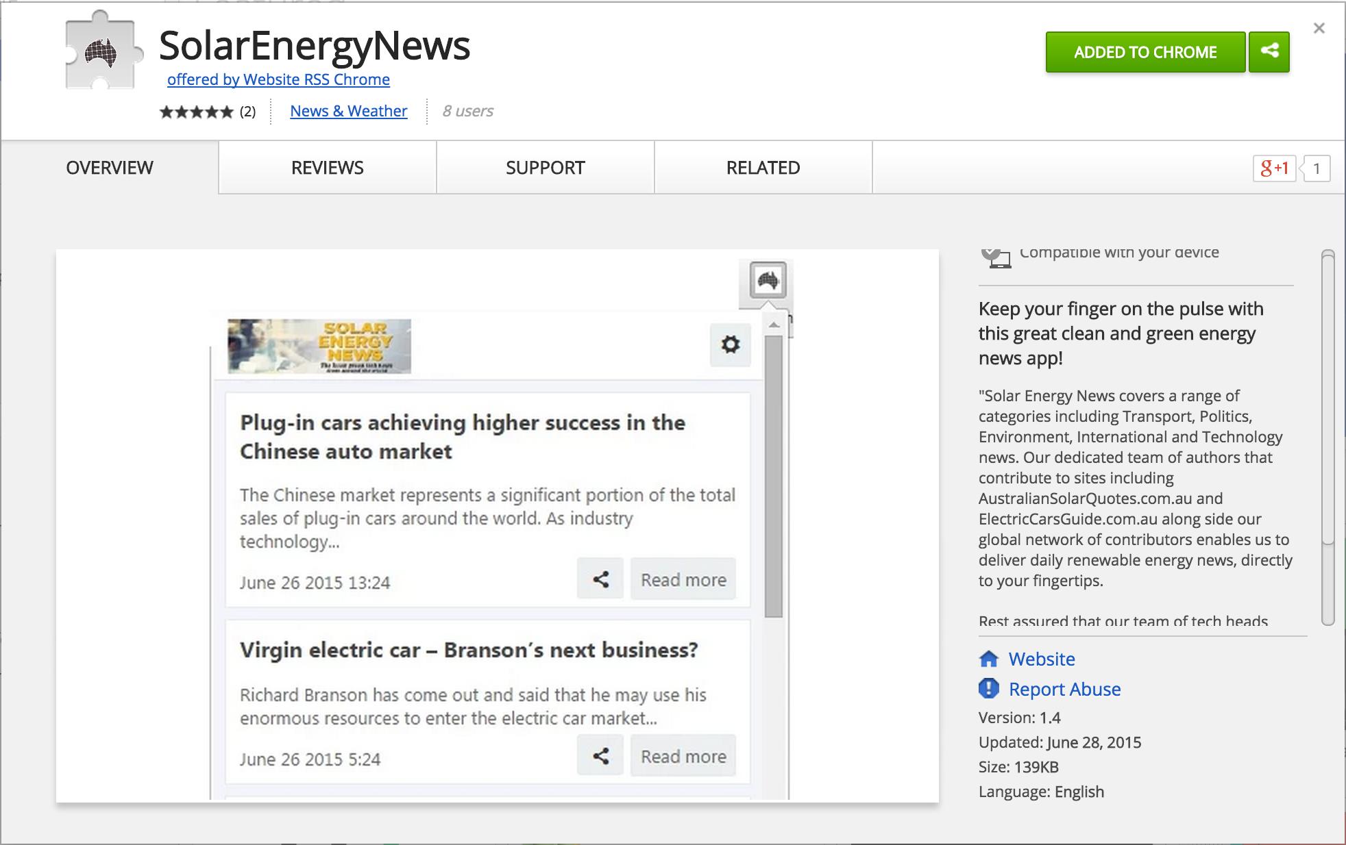 solar-energy-rss-feeds-google-chrome