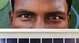 India's Solar Powered Train