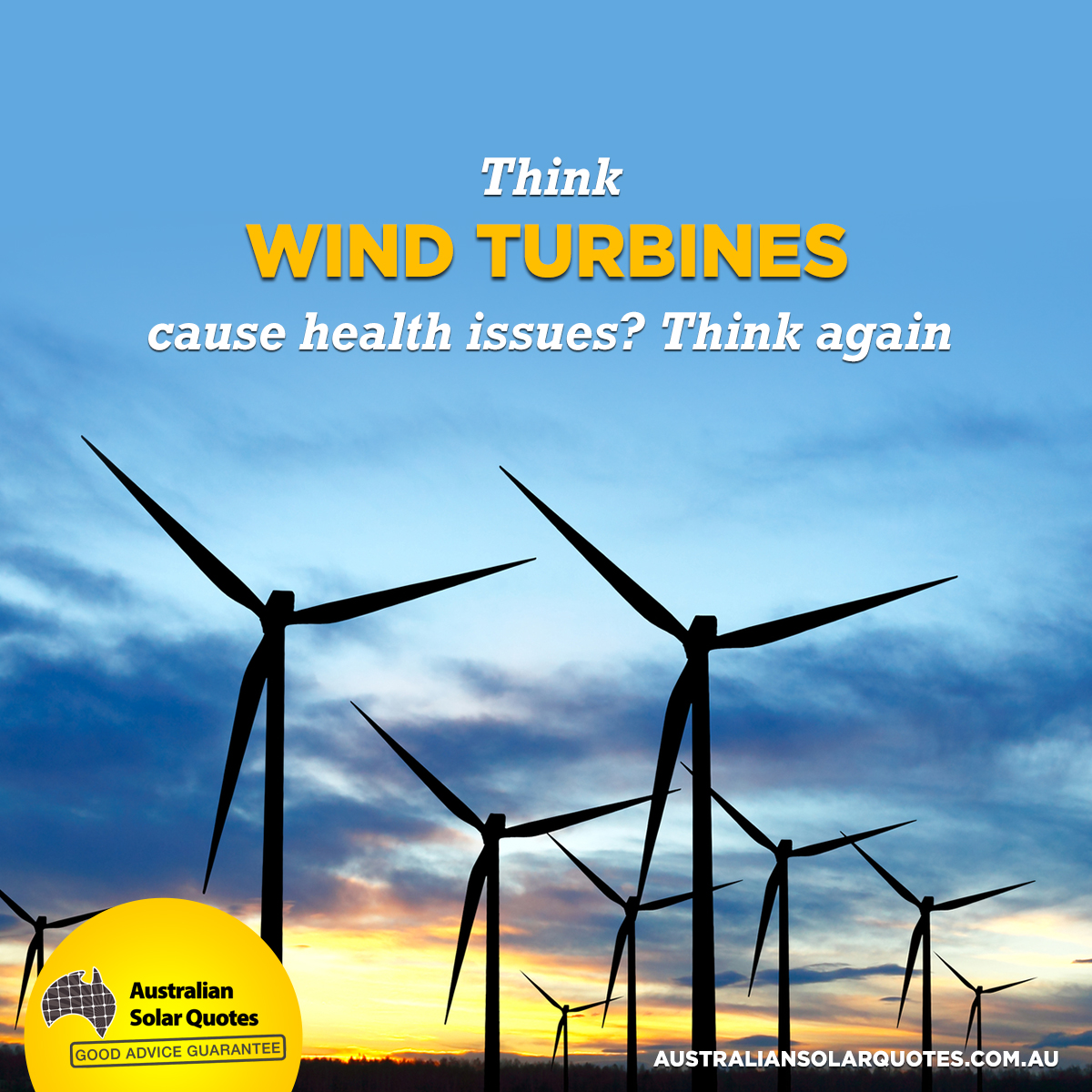 Think wind turbines cause health issues? Think again!