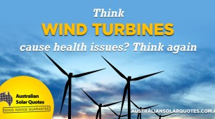 Think wind turbines can cause health problems? Think again!