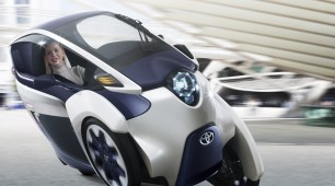 The Toyota i-Road: A Car and Motorbike In One
