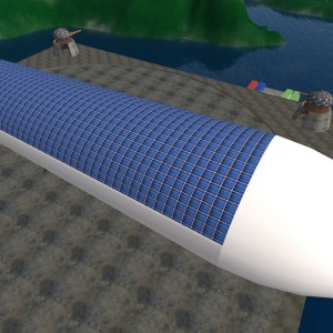 Solar Powered Helium Airship- The Future of Air Freight Transport