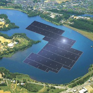 World's Biggest Floating Solar Plant Being Built In Japan