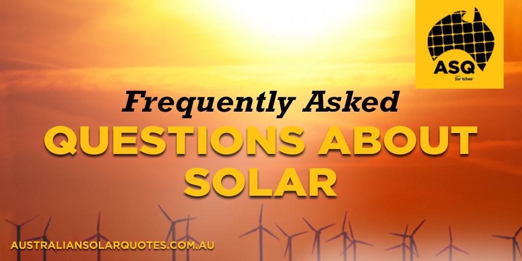 FAQ Solar
