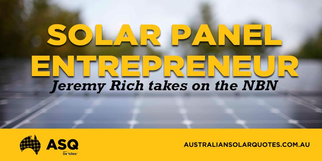 Solar Panel ENtrepreneur