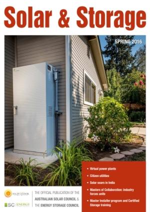 Solar Storage Magazine Australia Darryn Van Hout