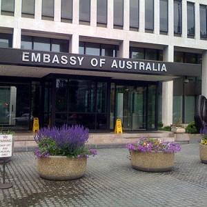 New Australian Embassy in Washington Featuring Solar
