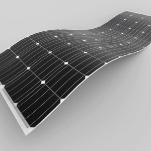 New, More Flexible Solar Panel Nearly 80% Lighter than Typical Panels