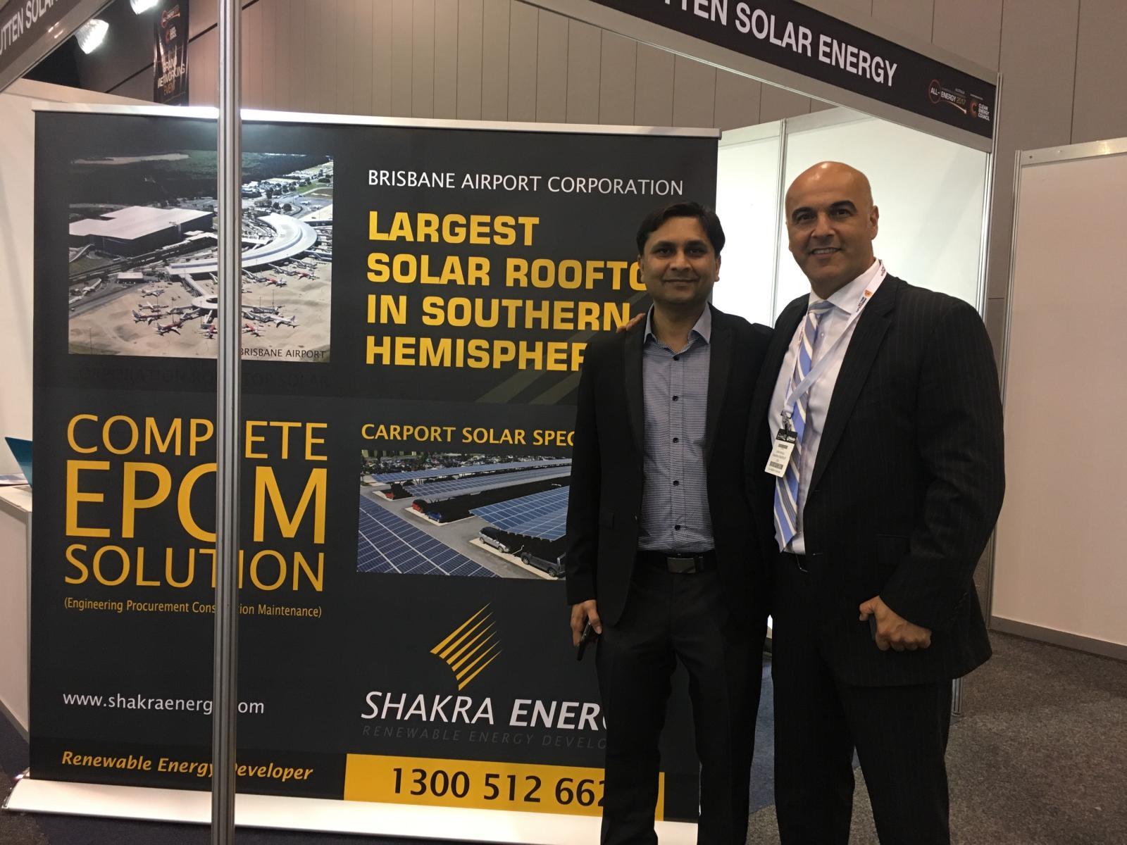Sam Khalil Shakra Energy Brisbane Airport Solar