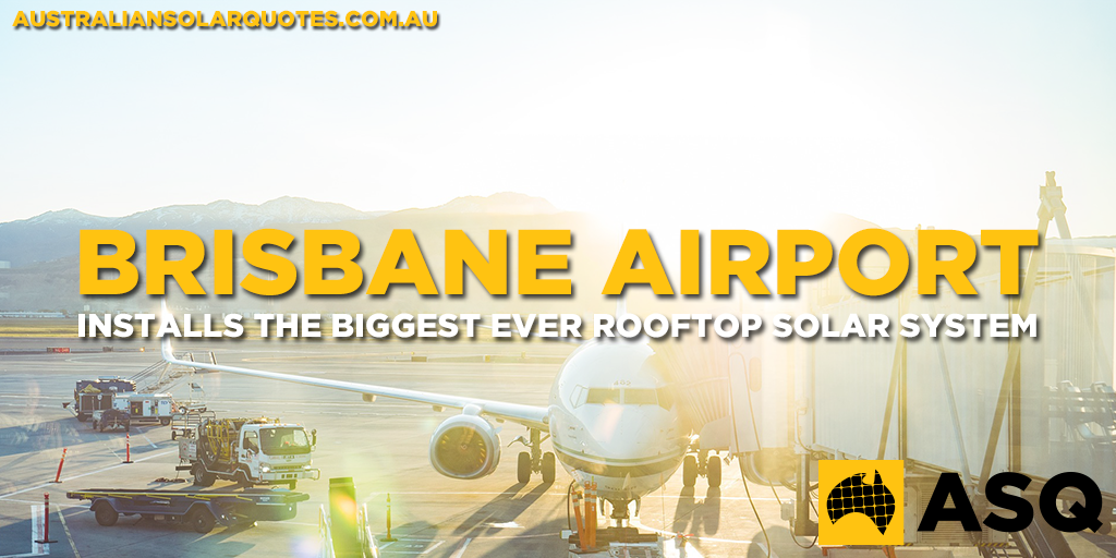TW_Brisbane Airport installs the biggest ever rooftop solar system