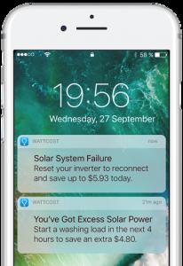 Wattcost App Push Notifications