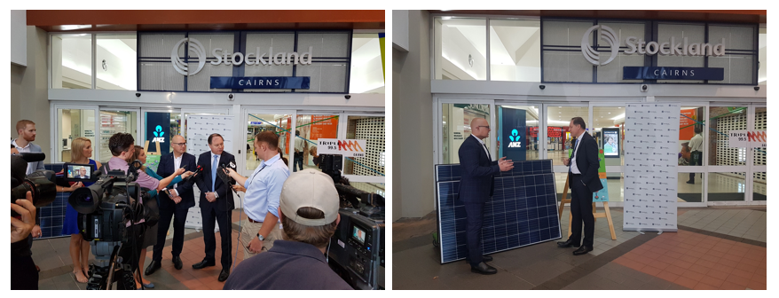 Stockland Cairns Shopping Centre Commercial Solar