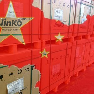 JinkoSolar posts a drop in solar module shipment